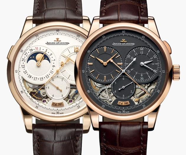 Jaeger LeCoultre Duometre Collection