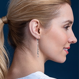 Click To View All Platinum Born Earrings