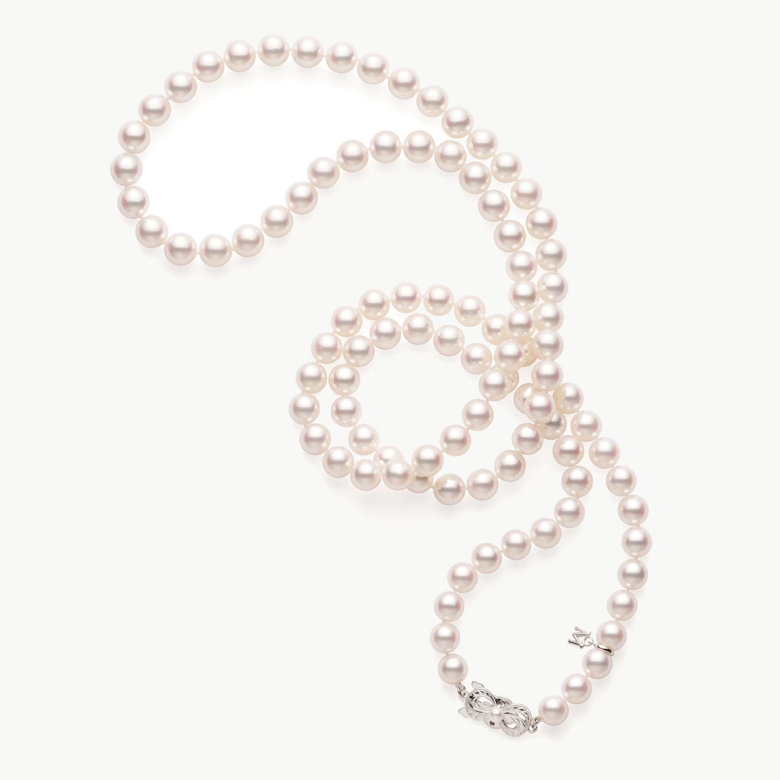 Akoya Cultured Pearl 32inch Necklace