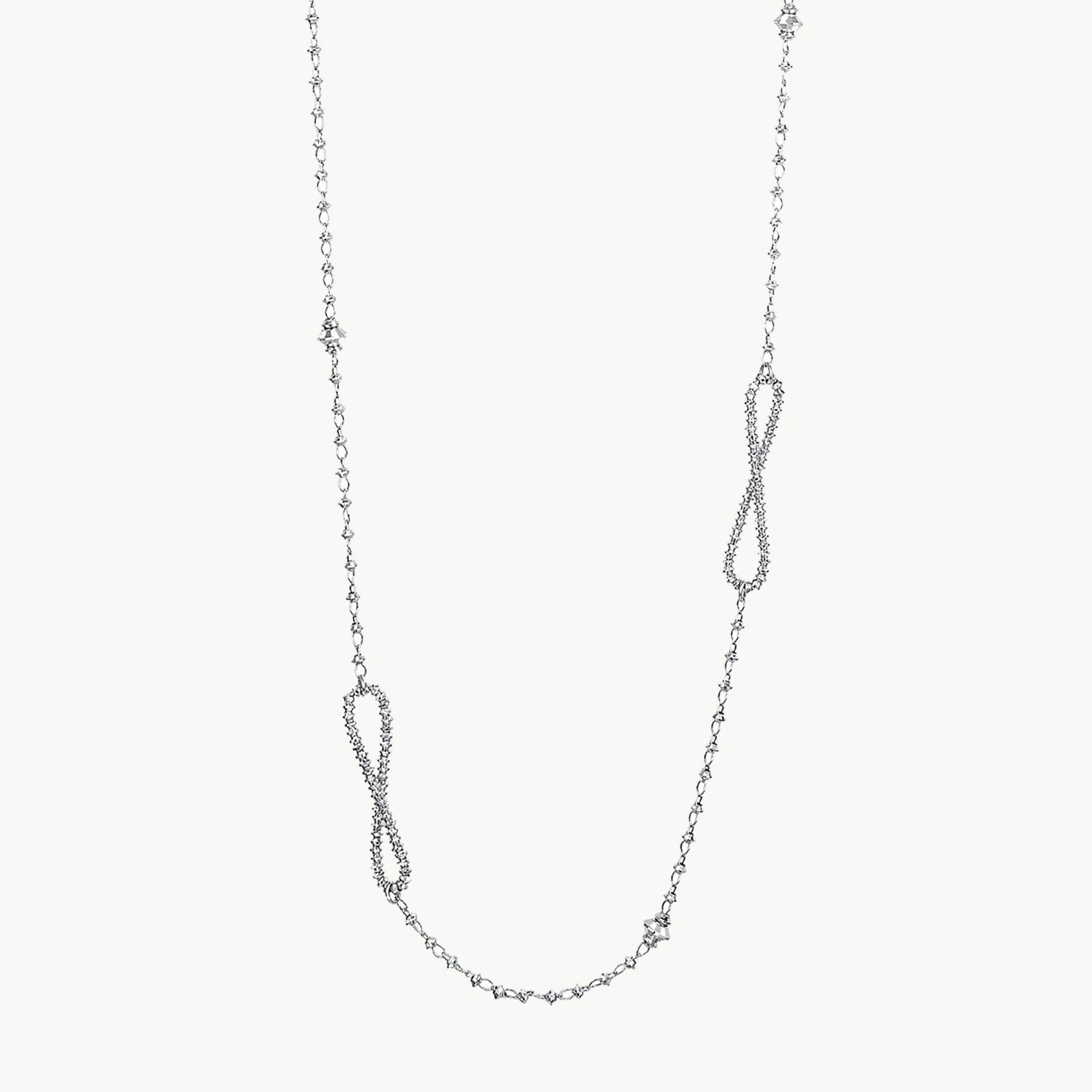 Platinum Born Infinity Necklace
