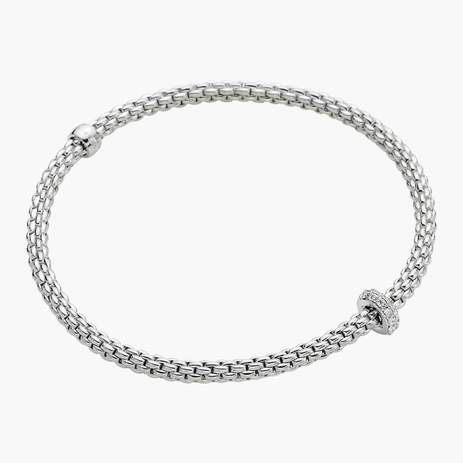 18k White Gold 0.18cttw Diamond Prima Bracelet