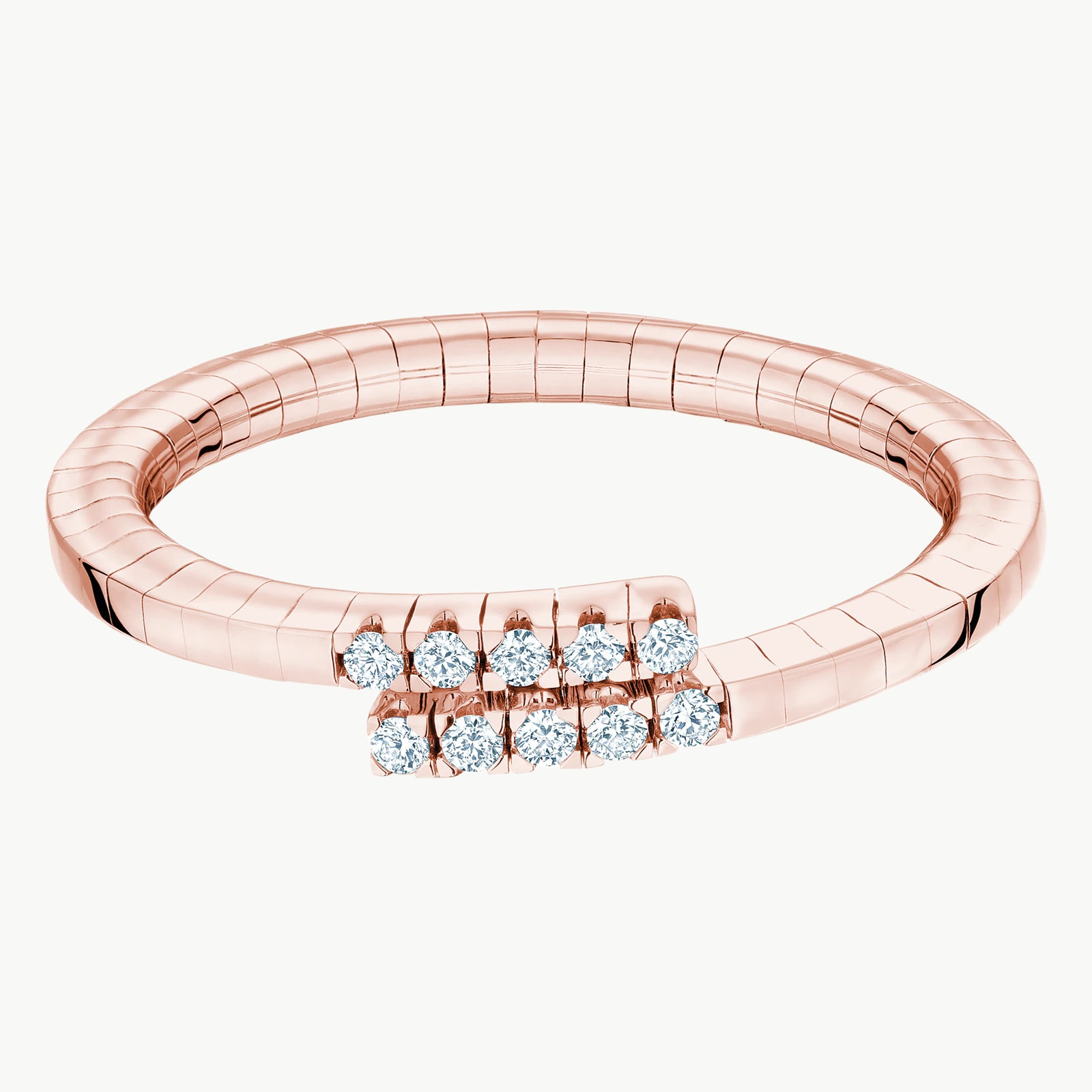 Rosee Du Matin Diamond Flex Wrap Ring