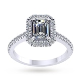 Mappin & Webb Amelia Platinum 0.50cttw Diamond Engagement Ring - Ring Size J
