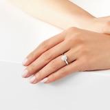 Mappin & Webb Masquerade 18ct White Gold 0.30cttw Diamond Ring