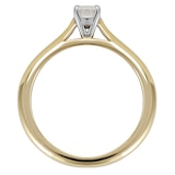 Mappin & Webb Silhouette 18ct Yellow Gold 0.50ct Diamond Engagement Ring