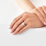 Goldsmiths 18ct White Gold 0.90ct Goldsmiths Brightest Diamond Ring