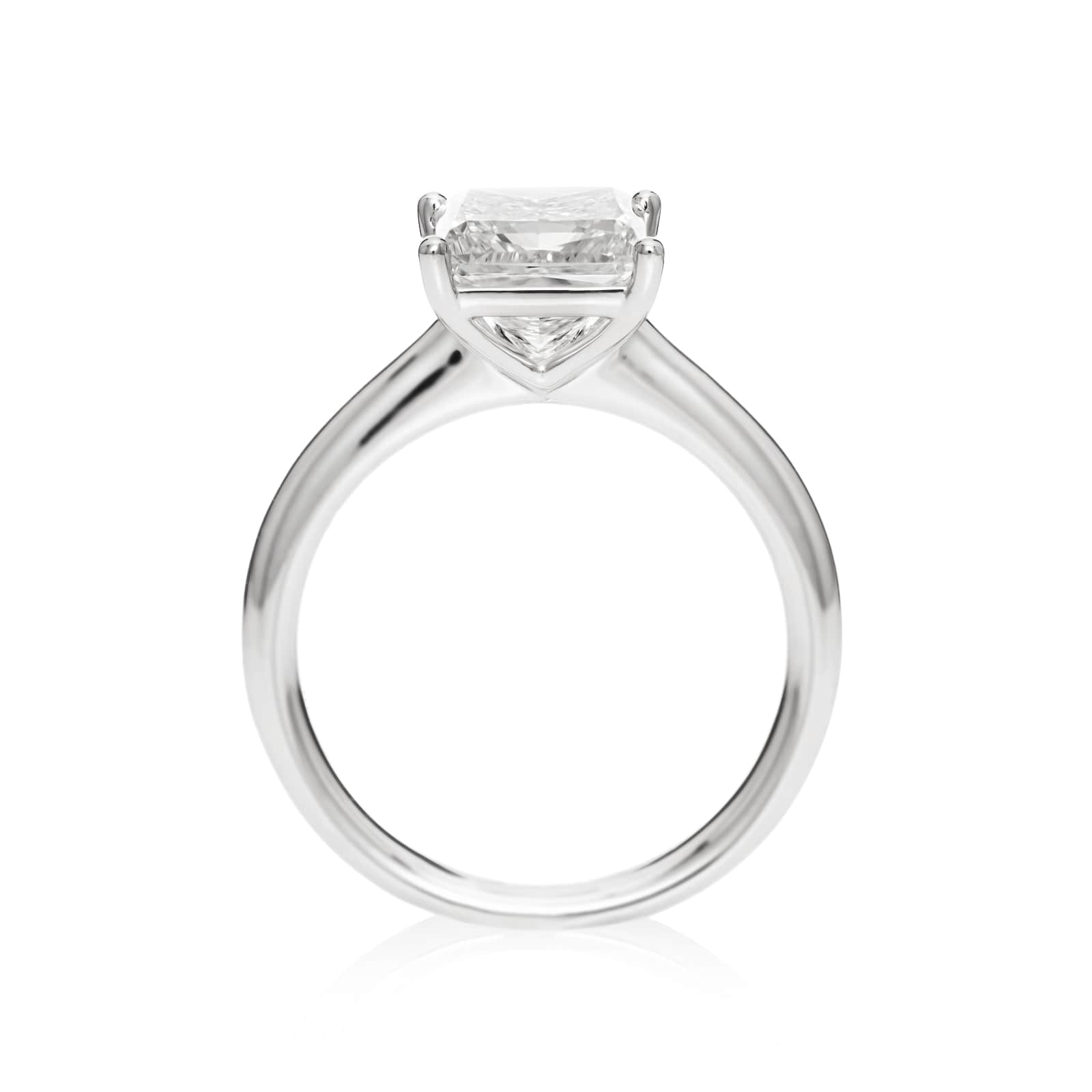 Mayors Platinum 2.50ct Princess Cut Engagement Ring (H/SI1)