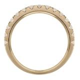 Goldsmiths 18ct Yellow Gold 0.75cttw Diamond Claw Set Eternity Ring
