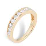 Mappin & Webb 18ct Yellow Gold 1.00cttw Diamond Channel Set Eternity Ring