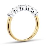 Goldsmiths 18ct Yellow Gold 1.00ct Brilliant Cut Goldsmiths Brightest Diamond Claw Set Ring