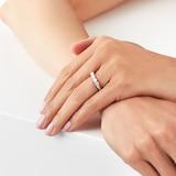 Goldsmiths Platinum 1.00ct Brilliant Cut Goldsmiths Brightest Diamond Claw Set Ring