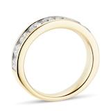 Goldsmiths 18ct Yellow Gold 1.50ct Brilliant Cut Goldsmiths Brightest Diamond Eternity Ring
