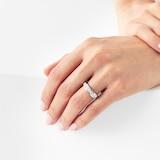 Goldsmiths 18ct White Gold 1.50ct Brilliant Cut Goldsmiths Brightest Diamond Eternity Ring