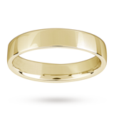 Mappin & Webb 18ct Yellow Gold 4mm Light Low Domed Wedding Ring