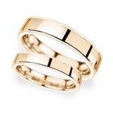 Goldsmiths 2mm Traditional Court Standard Milgrain Edge Wedding Ring In 18 Carat Rose Gold