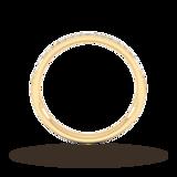 Goldsmiths 0.18 Carat Total Weight Brilliant Cut Grain Set Diamond Wedding Ring In 18 Carat Yellow Gold