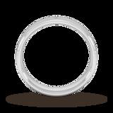Goldsmiths 5mm Brilliant Cut Diamond Set Wedding Ring In Platinum