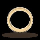 Goldsmiths 6mm D Shape Heavy Wedding Ring In 9 Carat Yellow Gold