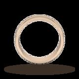 Goldsmiths 6mm D Shape Heavy Wedding Ring In 9 Carat Rose Gold