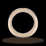 Goldsmiths 5mm Flat Court Heavy Wedding Ring In 9 Carat Rose Gold