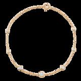 Mappin & Webb Gossamer 18ct Yellow Gold 0.45cttw Diamond Bracelet