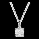 Mappin & Webb Masquerade 18ct White Gold 0.48cttw Diamond Pendant