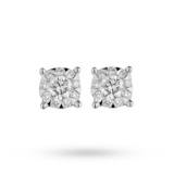 Mappin & Webb Masquerade 18ct White Gold 0.35cttw Diamond Stud Earrings