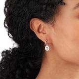 Mappin & Webb Empress 18ct White Gold 0.64cttw Diamond Sleeper Earrings
