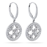 Mappin & Webb Empress 18ct White Gold 0.88cttw Diamond Carriage Earrings