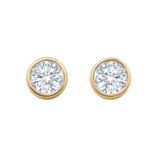 Mappin & Webb Gossamer 18ct Yellow Gold 0.33cttw Diamond Stud Earrings