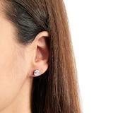 Mappin & Webb Renee 18ct White Gold 0.45cttw Diamond Cluster Stud Earrings