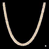 "Goldsmiths 9ct Yellow Gold Spiga 16"" Necklace"
