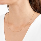 Goldsmiths 9ct Yellow Gold Spiga 18 Inch Necklace