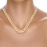 Goldsmiths 9ct Italian Gold Graduated Necklace
