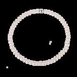 Goldsmiths 9ct White Gold 7-7.5mm Akoya Pearl Strand Necklace