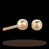 Goldsmiths 9ct Gold 3mm Ball Stud Earrings