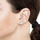 Goldsmiths 9ct White Gold 6mm Ball Stud Earrings