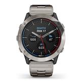 Garmin Quatix 6X Solar Titanium Smartwatch