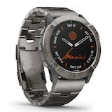 Garmin Fenix 6X Pro Solar Titanium Smartwatch