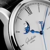 Glashutte Original Senator Excellence Panorama Date Moon Phase Mens Watch