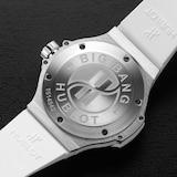 Hublot Big Bang Steel White Diamonds 38mm