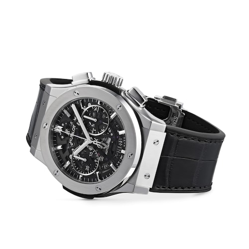 Hublot Classic Fusion Aerofusion Titanium 45mm Mens Watch