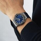 Hublot Hublot Classic Fusion Blue Titanium 45mm Mens Watch