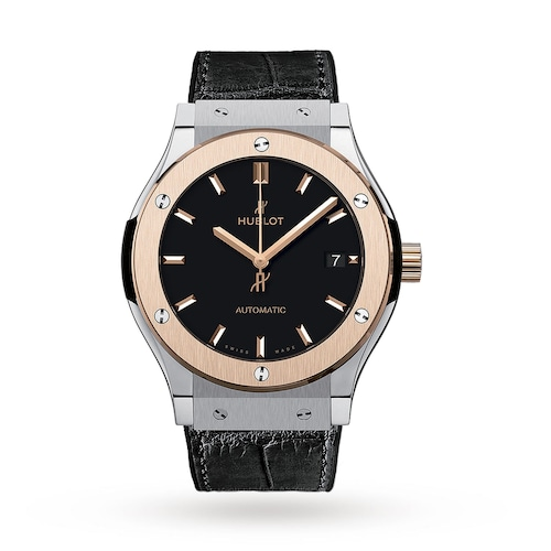 Hublot Classic Fusion Titanium King Gold 45mm Mens Watch
