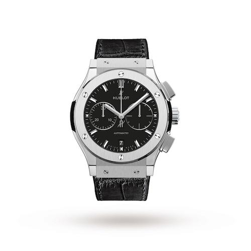 Hublot Classic Fusion Chronograph Titanium 45mm Mens Watch