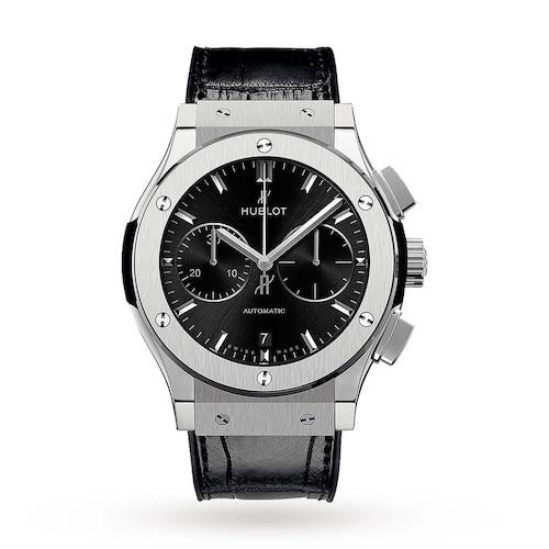 Hublot Classic Fusion Chronograph Titanium 42mm Mens Watch