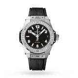 Hublot Big Bang One Click Steel Diamonds 39mm Ladies Watch