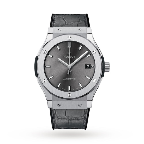 Hublot Classion Fusion Racing Grey Titanium 45mm Mens Watch