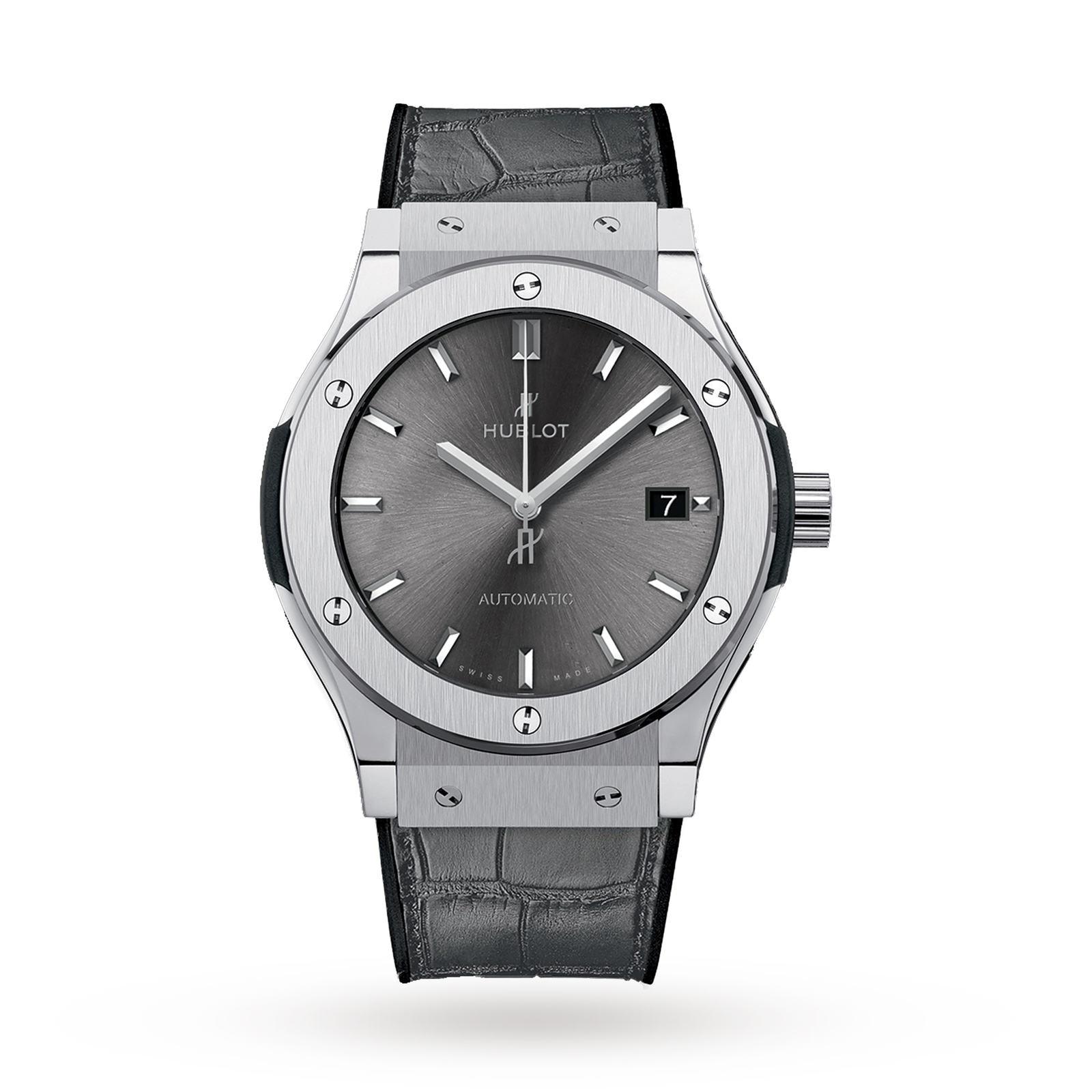 Hublot Hublot Classion Fusion Racing Grey Titanium 45mm Mens Watch