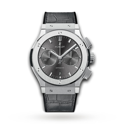 Hublot Classic Fusion Racing Grey Chronograph Titanium 45mm Mens Watch
